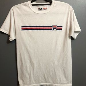 Stripped Fila T-shirt